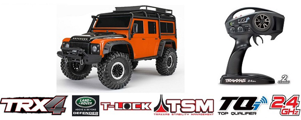 Traxxas TRX-4 Limited Adventure Edition Land Rover