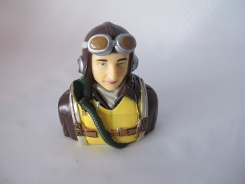 Pilot WW2 US 1/6 78 x 73 x 44 mm