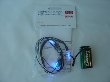 Car LEDs 4er Set UV-Blink
