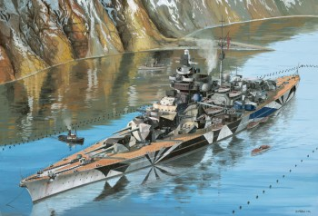 Battleship Tirpitz Platinum Edition 1:350