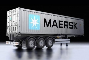 40-Foot Container Semi-Trailer