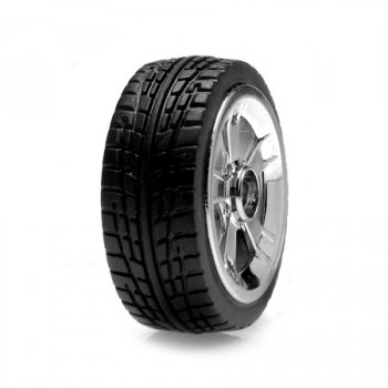 "LOSI Micro 22""s On-Road Tire Set Chrom"
