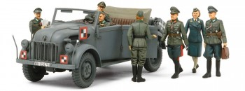 German Steyr 1500A Kommandeurwagen HQ Staff