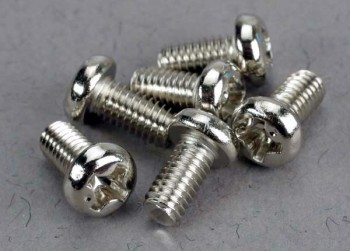 Traxxas Screws 3x6mm Roundhead Machin