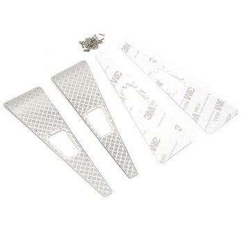Stainless Steel Front Hood Side Diamond Plate for TRX-4