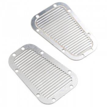 Stainless Steel Front Hood Vent Plate for TRX-4