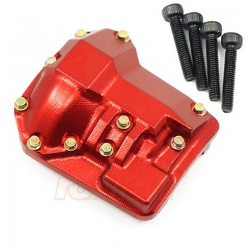 Aluminum CNC Protector Differential Case Red for TRX-4