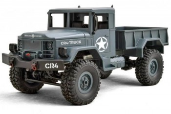 Mini Military Truck 4WD Grey 1/16 RTR