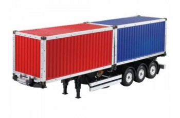 1/14 40 Foot Trailer Kit Twin 20 Foot Container Tamiya compatible