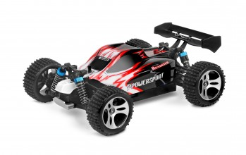 Powersport Buggy 1:18 rot/schwarz