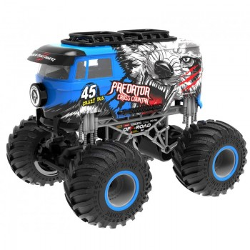 Big Wheel Crazy blau 1:16 2.4 GHz RTR
