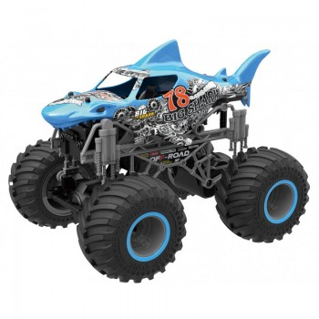 Big Wheel Shark blau 1:16 2.4 GHz RTR