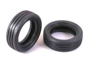 Tamiya - 2wd Wide Grooved F. Tires