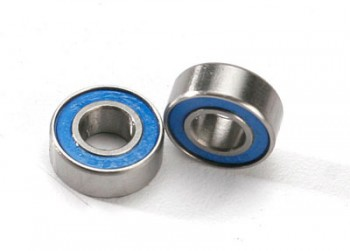 Kugellager Gummi Blau 6x13x5mm 2Stk.