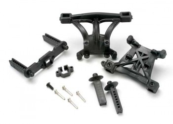 E-Revo - Body Mounts Front/Rear Body M