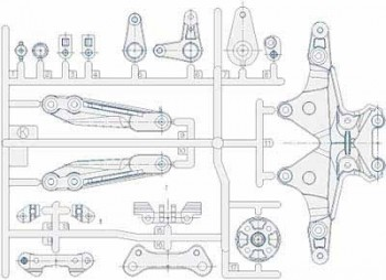 FF-03 Carbon Reinforced K Parts