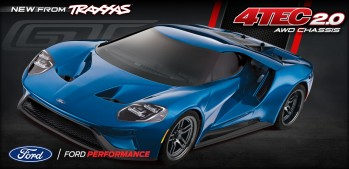 Ford GT 2017 1:10 4WD RTR