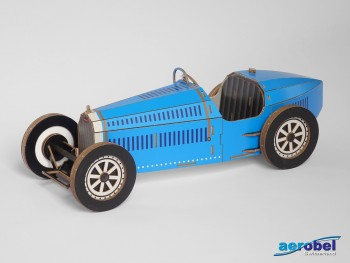 Bugatti 35 B Kartonbausatz