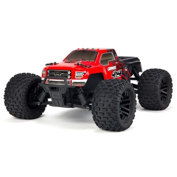 Granite Mega 1:10 4WD RTR Red/Black