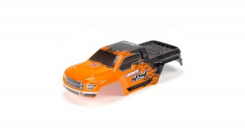 Body Painted/Decal Orange Black