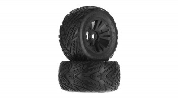Minokawa MT 6S Tire Wheel Glued Black