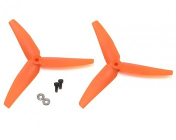 230S V2 Heckrotor Orange 2 Stk.