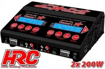 Dual-Star PRO Charger - 2x 200W (400W AC) 12/230V
