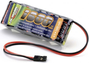 EA NiMH 6V 1600mAh Stick Pack 2/3A JR