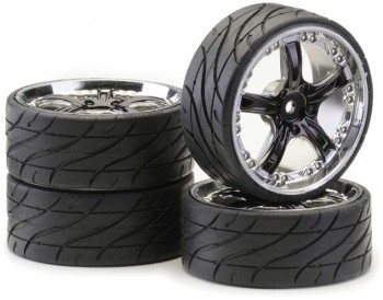 Ansmann - Tire + Ride Rockstar Smoke Chrome