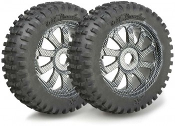 Ansmann - Rims + Tires Buggy 1:8 Carbon