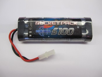 Rocket Pack NiMH 7.2V 5100mAh