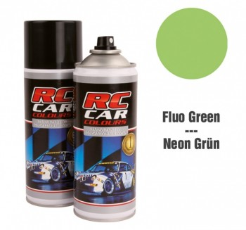 RC CAR Fluo Grün (Spray 150ml) LEXAN