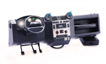 Dashboard with led lights for TRX-4