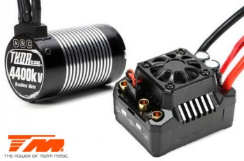 Brushless Combo - THOR MAX 10 ESC & THOR 3660 Motor - For TM E5 HX