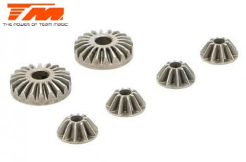 E5 - Differential Bevel Gear Set (for 1 diff)