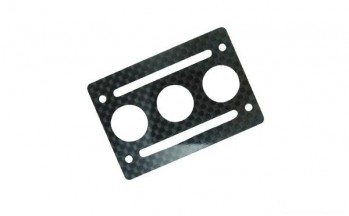 XAircraft - Battery Mounting Plate Carbon 1Stk.