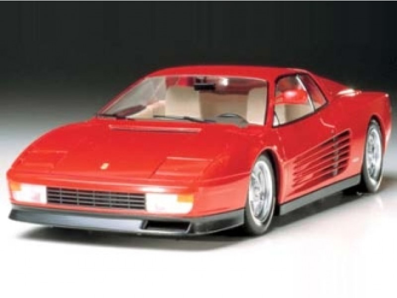 ferrari testarossa modellbau. Black Bedroom Furniture Sets. Home Design Ideas