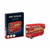 London Bus Mini 3D Puzzle