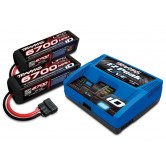 EZ-Peak Live & 2 Stk. Lipo 4s 6700mAh 14.8V Für X-Maxx Power Up 8s