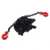 Long Chain and Hook Set Black 1/10 Rock Crawler 96cm