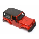 Wrangler Body 1/10 RC Crawler Hard Top Red