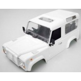 1/10 unpainted Defender D90 Plastic Body Kit with Inner Wheelbase 275mm