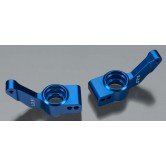 Axle carriers R 6061-T6 ALU L&R blue - XO-1