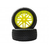 Offroad Wheels Buggy 1:10 gelb 85mm X 42mm 2Stk.