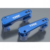 Caster Blocks C-Hubs 6061-T6 L&R Alu blue Stampede 4x4 / Slash 4x4