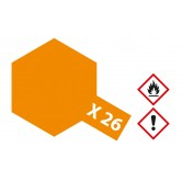 X-26 Orange transparent glänzend 10ml