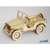Willys MB Jeep Holzbausatz