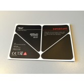 Inspire 1 - TB47 Battery Insulation Stickers