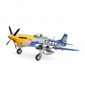 P-51D Mustang BNF m/AS3X, SAFE Select, Smart Techn.