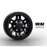 Gmade 1.9 NR02 beadlock wheels (Black) (2)